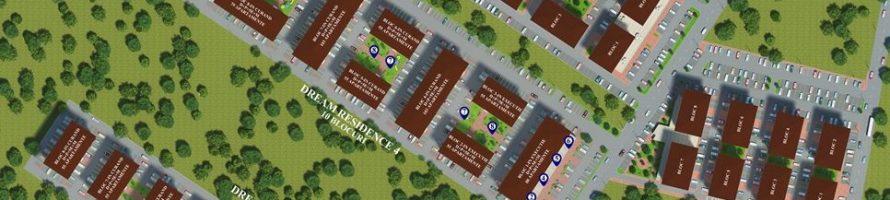 Plan situatie blocuri locuinte